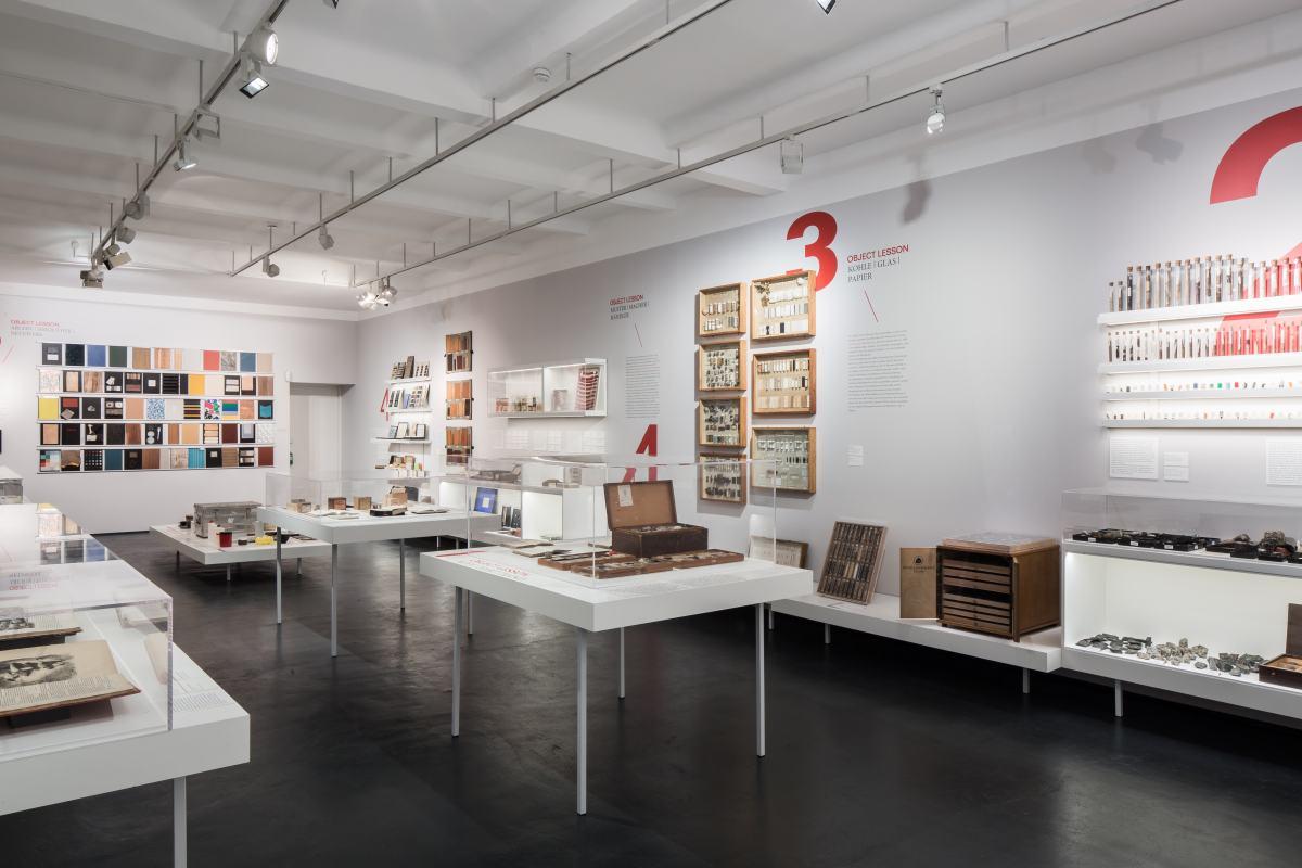 Ausstellungsansicht Object Lessons, Foto: Christian Richters