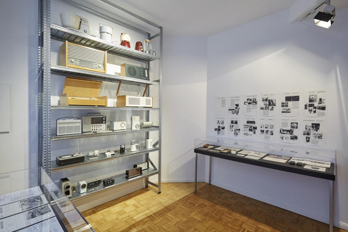 """Blick in die Ausstellung """"Die Braun Idee"""""""