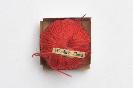 Detail aus Object Lesson Box, Woolen Thread