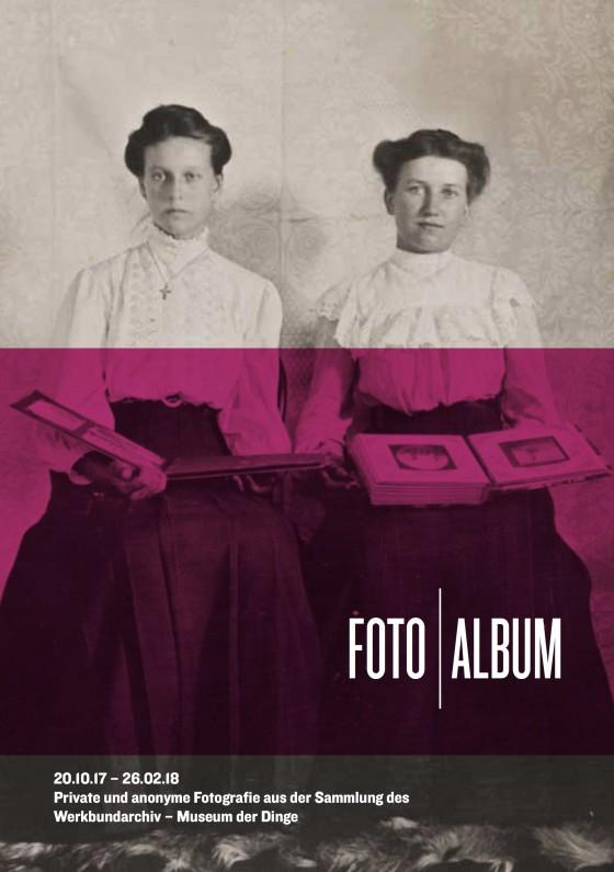 Flyer FOTO | ALBUM Vorderseite, Gestaltung: Rose Epple